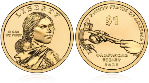 2011 Native American $1 Dollar