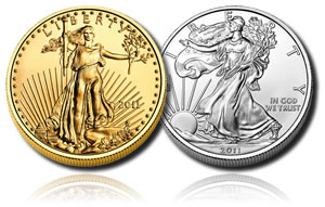 American Eagle Gold and Silver Bullion Coins