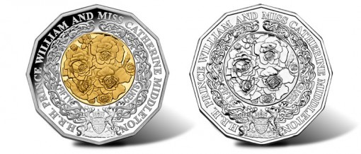 Australia Prince William and Catherine Middleton Royal Engagement Coins