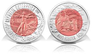 Austrian Robotics Bimetallic Coin