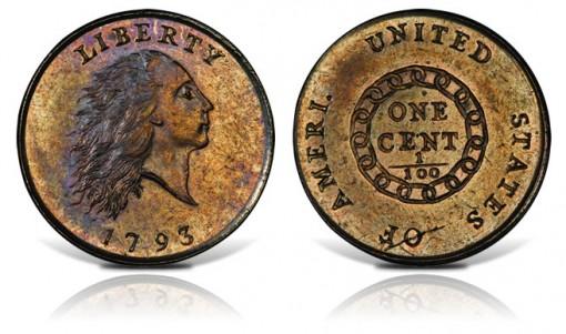 Mickley 1793 AMERI. Chain Cent