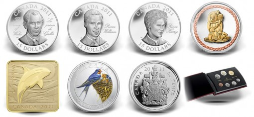 Royal Canadian Mint Spring 2011 Collector Coins