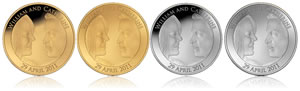 UK Royal Wedding Coins