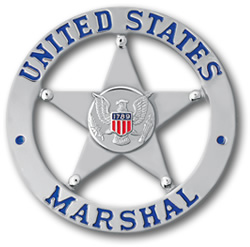 United States Marshals Service Star Badge