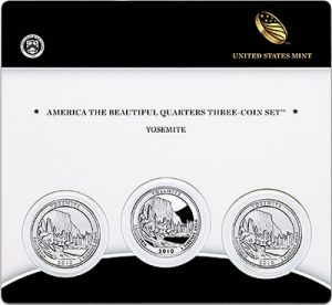 Yosemite Quarter Three-Coin Set