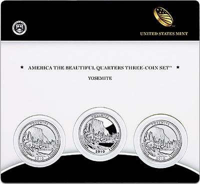 Yosemite Quarter Three-Coin Set
