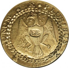 1787 Brasher Doubloon Gold Coin