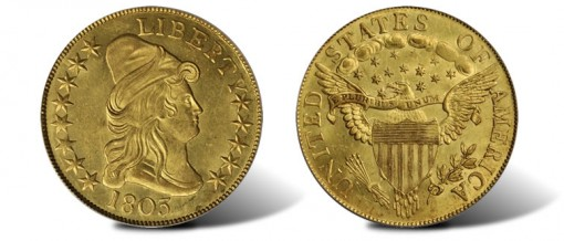 1803 Capped Bust Right Eagle
