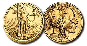 American Eagle and Buffalo Gold Bullion Coin