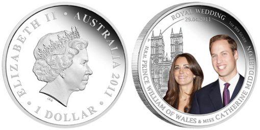 Australia Royal Wedding 1oz Silver Coin