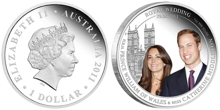 royal wedding royal wedding. Australia Royal Wedding 1oz