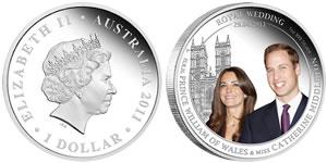 Australia Royal Wedding Silver Coin