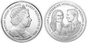 BVI Royal Wedding Coin