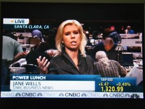 CNBC's Jane Wells in Santa Clara