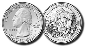 Glacier National Park Quarter