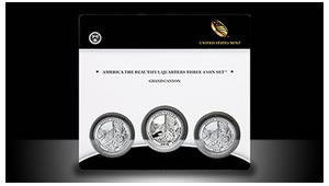 Grand Canyon National Park Quarter Three-Coin Set