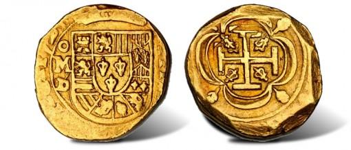 MEXICO. 4 Escudos, 1724-D
