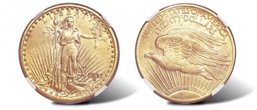 1921 double eagle
