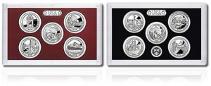 2010-2011 Quarters Silver Proof Sets