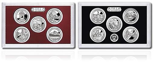 2010-2011 Quarters Silver Proof Sets