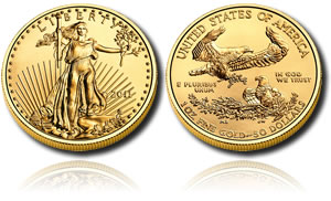 2011 American Gold Eagle Bullion Coin