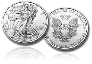 2011 American Silver Eagle Bullion Coin