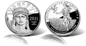 2011 Proof American Platinum Eagle