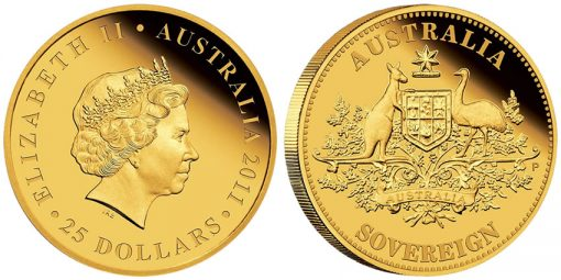 2011 Proof Australian Sovereign Gold Coin