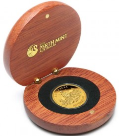 2011 Proof Australian Sovereign Gold Coin Packaging