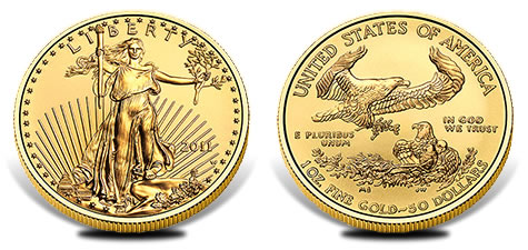 2011 Uncirculated American Gold Eagle