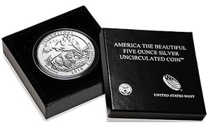 Yellowstone National Park Silver Uncirculated Coin