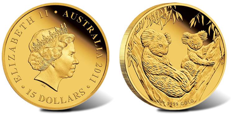 2017 Australian Koala 5 Ounce Silver Proof Coin