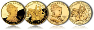 2011 Julia Grant First Spouse Gold Coins