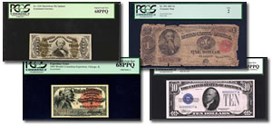 PCGS Currency Set Registry Banknotes