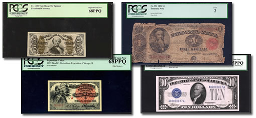 PCGS Currency Set Registry Notes