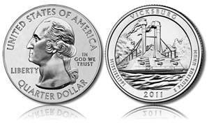 Vicksburg National Military Park Coin