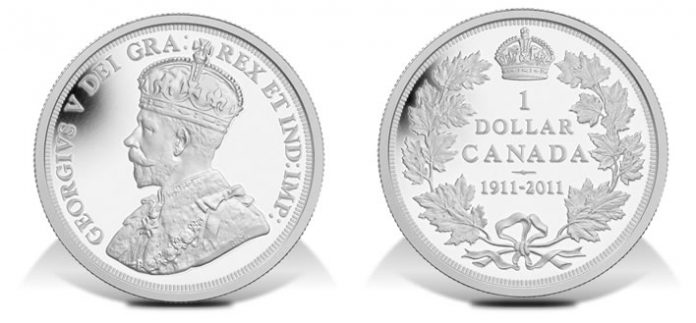 2011 100th Anniversary Special Edition 1911 Silver Dollar