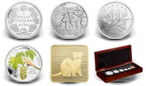 Canadian Mint's Latest 2011 Collector Coins and Set