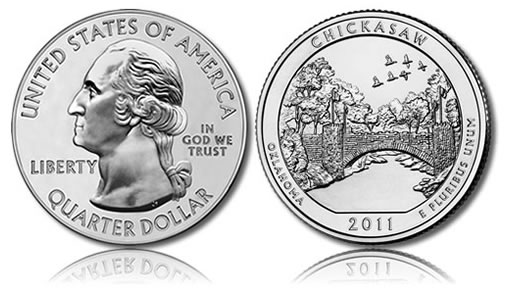 Chickasaw National Recreation Area Coin