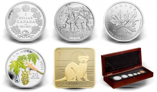 Royal Canadian Mint's Latest 2011 Collector Coins and Set