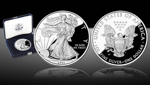 US Mint Image of 2011 Proof American Silver Eagle