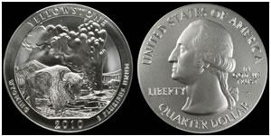 Yellowstone 5 Oz Silver Coin Error
