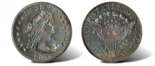 1804 Draped Bust Quarter