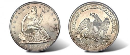 1855-S 50C Arrows