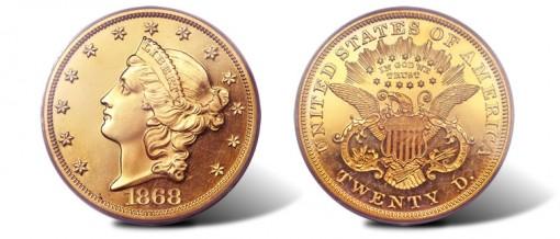 1868 double eagle