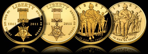 2011 Commemorative Gold Coins