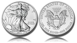 2011 Uncirculated Silver Eagle