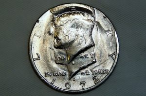 Double Struck 1972-D Kennedy half-dollar