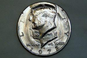 Double Struck 1972-D Kennedy half-dollar