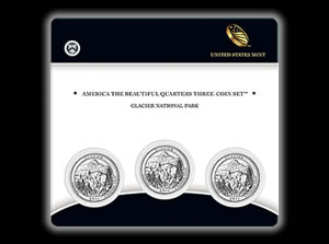 Glacier Quarter Three-Coin Set